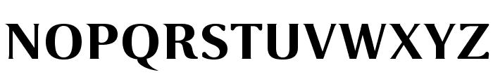 VenturisSansADFEx-Bold Font UPPERCASE