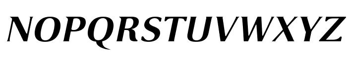 VenturisSansADFEx-BoldItalic Font UPPERCASE