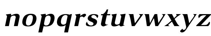 VenturisSansADFEx-BoldItalic Font LOWERCASE