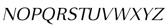VenturisSansADFEx-Italic Font UPPERCASE