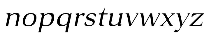 VenturisSansADFEx-Italic Font LOWERCASE