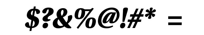 VenturisSansADFHeavy-Oblique Font OTHER CHARS