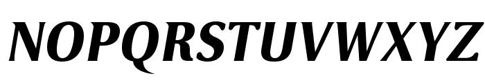 VenturisSansADFHeavy-Oblique Font UPPERCASE