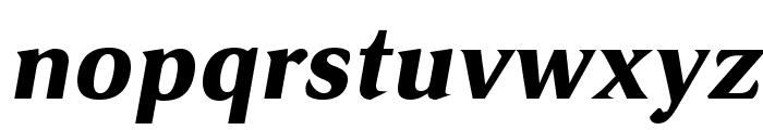 VenturisSansADFHeavy-Oblique Font LOWERCASE