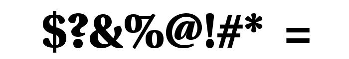 VenturisSansADFHeavy Font OTHER CHARS