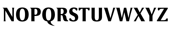 VenturisSansADFHeavy Font UPPERCASE