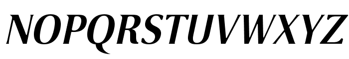 VenturisSansADFLt-BoldItalic Font UPPERCASE