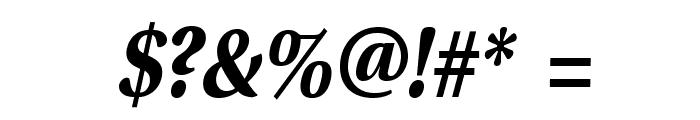VenturisSansADFNo2-BoldItalic Font OTHER CHARS