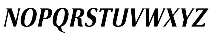 VenturisSansADFNo2-BoldItalic Font UPPERCASE