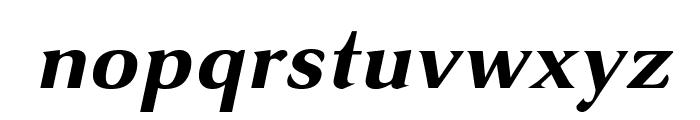 VenturisSansADFNo2-BoldItalic Font LOWERCASE