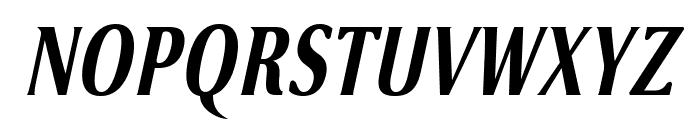 VenturisSansADFNo2Cd-BoldItal Font UPPERCASE