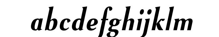 VenturisSansADFNo2Cd-BoldItal Font LOWERCASE