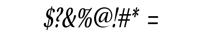 VenturisSansADFNo2Cd-Italic Font OTHER CHARS