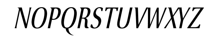 VenturisSansADFNo2Cd-Italic Font UPPERCASE