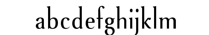 VenturisSansADFNo2Cd-Regular Font LOWERCASE