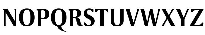 VenturisSansADFNo2Ex-Bold Font UPPERCASE