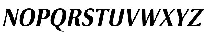 VenturisSansADFNo2Ex-BoldItal Font UPPERCASE
