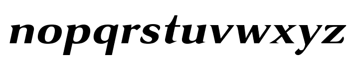 VenturisSansADFNo2Ex-BoldItal Font LOWERCASE
