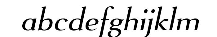 VenturisSansADFNo2Ex-Italic Font LOWERCASE