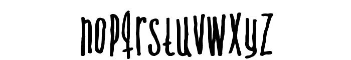 Venus flytrap  & the bug Font LOWERCASE