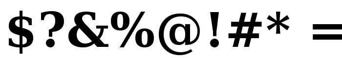 Verana-Bold Font OTHER CHARS