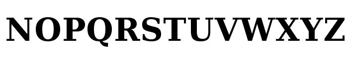 Verana-Bold Font UPPERCASE