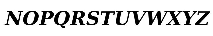 Verana-BoldItalic Font UPPERCASE