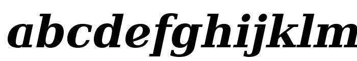 Verana-BoldItalic Font LOWERCASE