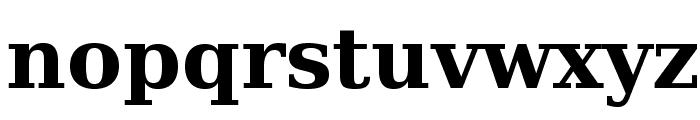 Verana-Bold Font LOWERCASE