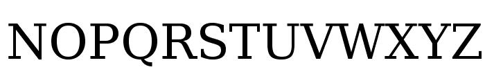 Verana-Regular Font UPPERCASE
