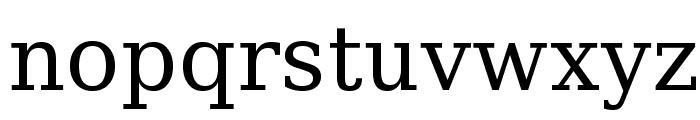 Verana-Regular Font LOWERCASE