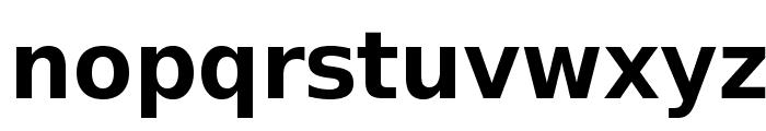 VeranaSansDemi-Regular Font LOWERCASE