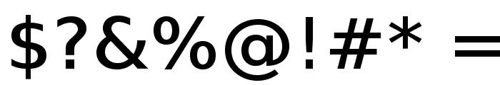 VeranaSansMedium-Regular Font OTHER CHARS