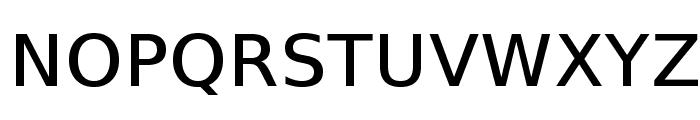 VeranaSansMedium-Regular Font UPPERCASE