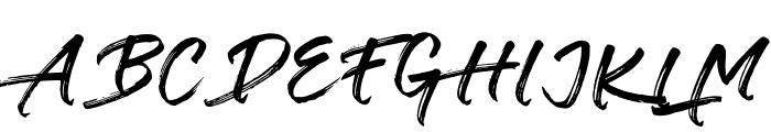 Verbena Font UPPERCASE