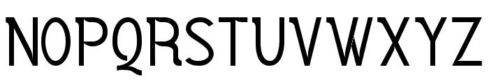 Vercing?torix Regular Font UPPERCASE