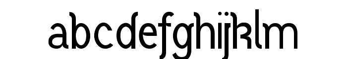 Vercing?torix Regular Font LOWERCASE