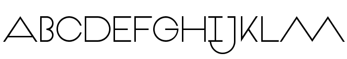 VeronBold Font UPPERCASE