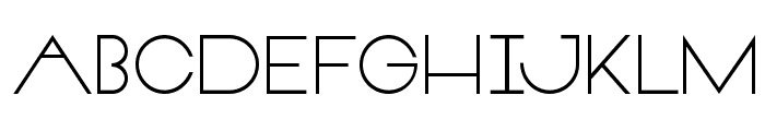 VeronBold Font LOWERCASE