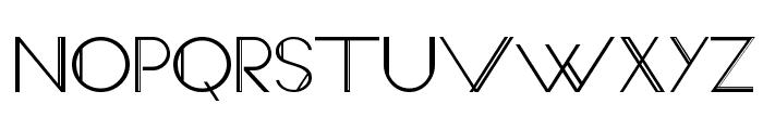 VeronExtra Font UPPERCASE