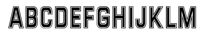 Verona FFF Font UPPERCASE