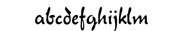 Verona Script Font LOWERCASE