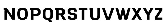 VersaBlock Bold Font UPPERCASE