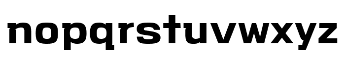 VersaBlock Bold Font LOWERCASE