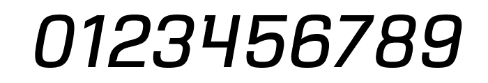 VersaBlock Book Oblique Font OTHER CHARS