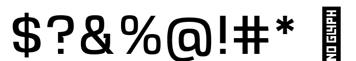 VersaBlock Book Font OTHER CHARS