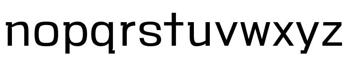 VersaBlock Light Font LOWERCASE