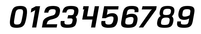 VersaBlock Semibold Oblique Font OTHER CHARS