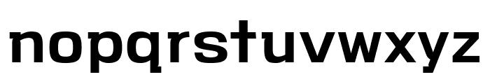 VersaBlock Semibold Font LOWERCASE