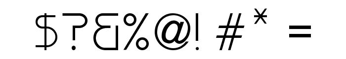 Versaniah_Bold Font OTHER CHARS